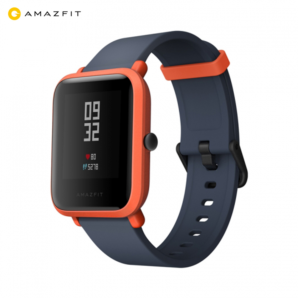 Original Xiaomi Amazfit Smart Watch Youth Edition Bip BIT PACE Lite Ultra-light Screen 1.28 Baro IP68 Waterproof GPS Compass z ultra google edition