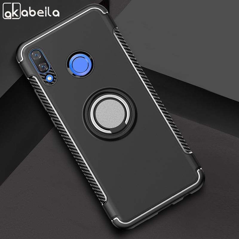 AKABEILA Case Huawei nova 3i Case Silicone Back Cov
