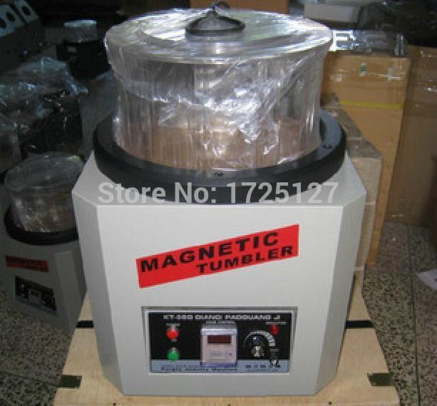 1300g Capacity Jewelers Tools Jewellery Magnetic Tumbler ,Extra Large Ring Jewelry electromagnetic Polishing Machine
