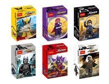 Decool 0184-0189 X-Man Super Hero Magneto Hawkeye Minifigure Building Block Toys   Brick Gift