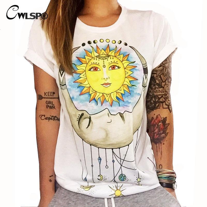 HTB1oEQxKXXXXXbPXXXXq6xXFXXXC - Summer Colorful Printed T shirt Women Fashion Letter Short Sleeve