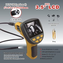 99E 3.5 inch TFT monitor,Handheld Video Borescope,cctv camera ,CMOS endoscope camera