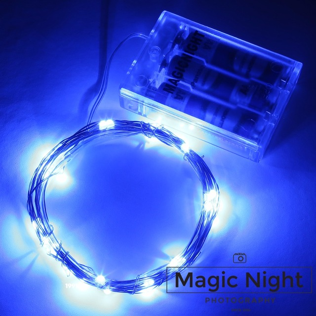 Magicnight 10ft 30 Blauw Mini Micro LED Sterrenhemel Verlichting ...