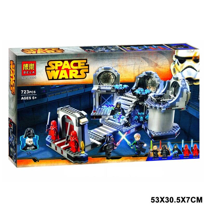 Star Wars death Star final duel bloque de construccion para nino juguete de los ladrillos  Compatible con silla de director plegable de madera con bolsas para maquillaje pelicula studio hw46460