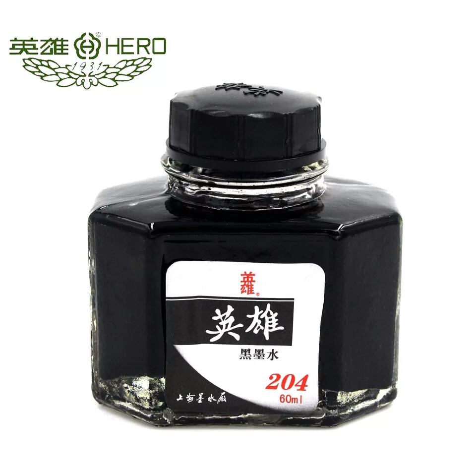 brand black ink fountain pen ink glass bottled 50 ml refill school chancery office supplies for fountain ink pen stationery parker 88 maroon lacquer gt fine point fountain pen