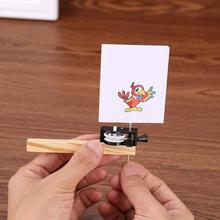 1 juego divertido pájaro enjaulado que hace a los niños DIY juguete ciencia tecnología educación juguete artesanía Material modelar equipo para chico