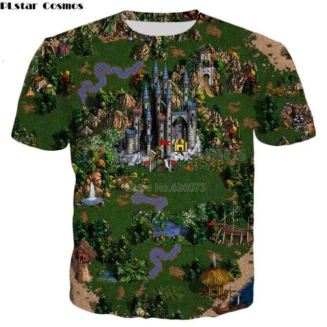 PLstar Cosmos 2019 New style summer T shirt Fashion Men/Women tshirt Classic game Heroes of Might & Magic Print Harajuku t shirt