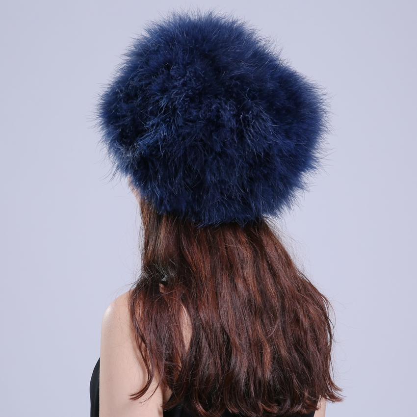NGSG Prirodno perje tanke kaputi za žene modne proljetne skullies - Pribor za odjeću - Foto 6