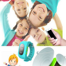 New Products 2017 kids cell phone watch GPS Tracker Q50 Anti-lost kids gps watch phone with monitoring