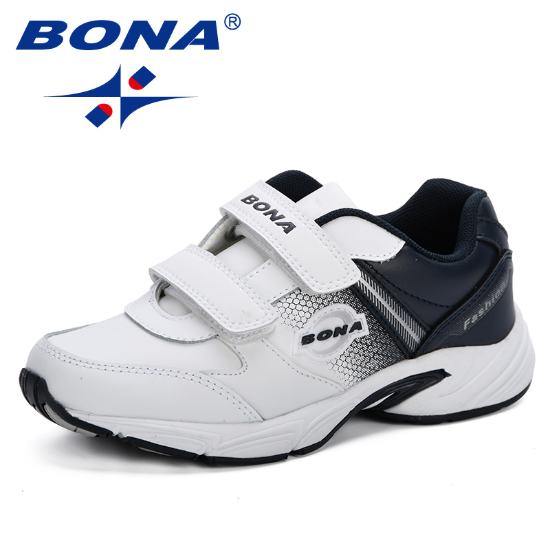BONA New 2019 Spring Autumn New  Children Casual Shoes Boys Fashion Sneakers Elegant Soft Breathable Kids Comfortable Footwear