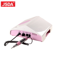 3 in 1 Electric Nail Drill Art Dust Collector Suction Machine Desk With Lamp Manicure Pedicure Nail Art Equipment Nail Drill