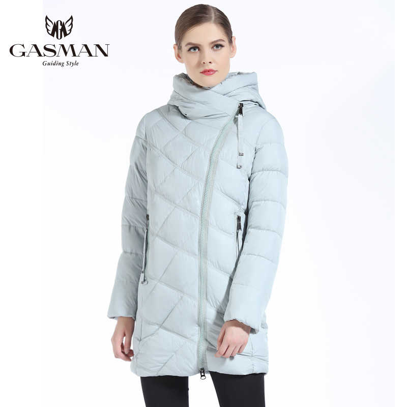 GASMAN 2019 abrigo de invierno para mujer chaqueta gruesa con capucha зимнияя chaqueta de moda femenina партки y abrigo para mujer