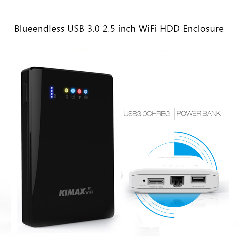 External mechanical mobile hard font b disk b font 1TB 500 320G support powerbank wireless router