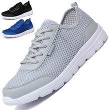 Unisex Mesh Outdoor Sports Shoes Men Sneakers Running