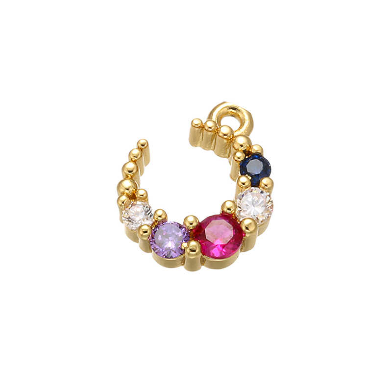 Exquisitos colgantes para joyería ZHUKOU de 10x12mm, fabricación de collar para mujer, pendientes, pulsera, accesorios de joyería, modelo: VD505