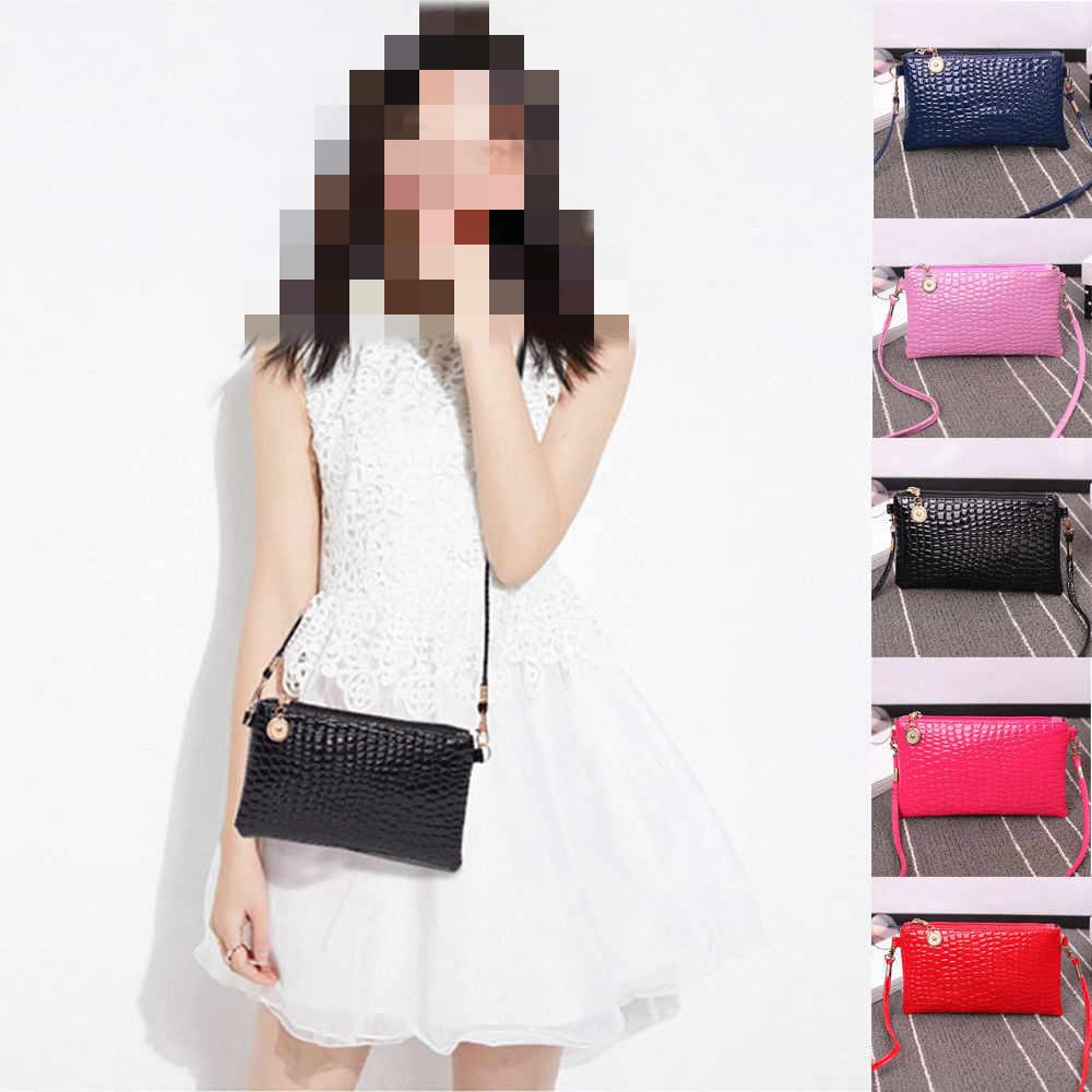 Saco de Mulheres da moda Mensageiro de Couro Bolsa de Ombro Bolsa Tote Bolsa Mensageiro Crossbody Bag de Alta Qualidade