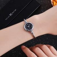 Top Luxury Brand Women Bracelet Watches Women Fashion Simple Quartz Wristwatch Ladies Watch Female Clock Montre Femme Horloges 4