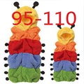 Worm Baby Sleeping Bag Newborn wrap envelope Children baby cocoon Rainbow Cute Sleep sack Bedding