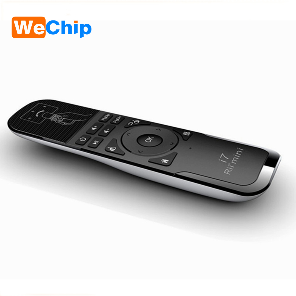 WeChip Rii i7 font b Mini b font USB Wireless laser Fly Air Mouse 2 4G