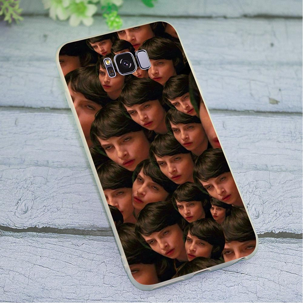 Cases Finn Wolfhard TV Phone Cover for Samsung Note 8 Case Note 9 M10 M20 M30 Galaxy S6 S7 Edge S8 S9 S10 Plus S10e