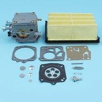 Filtro de Ar Do carburador Diafragma Do Carburador Reconstruir Kit Para Husqvarna 268 272 272XP Motosserra XP Tillotson HS254B  RK-23HS  503447203