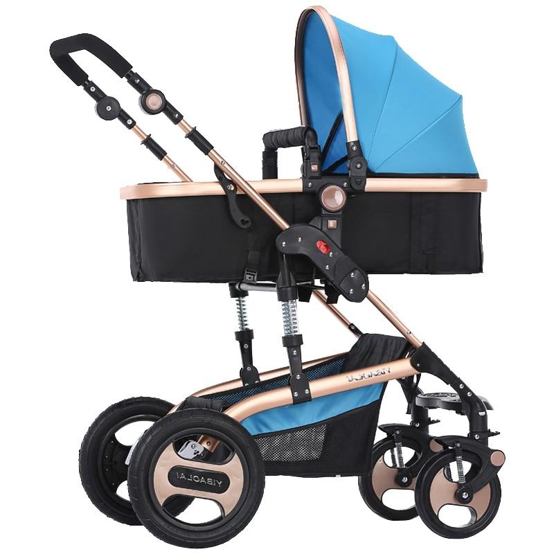 Bora kinderwagen trolley dubbele wandelwagen lichte baby auto - Activiteit en uitrusting voor kinderen - Foto 3