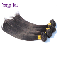 On Sale Unprocessed 2 bundles Peruvian virgin hair straight human extensions grade 6A good quality Virgin Hair Peruvian Weaves