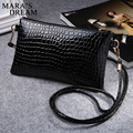 Mara's Dream 2017 Small Alligator PU Leather Women Messenger Bags Solid Candy Zipper Shoulder Handbags Women Crossbody Bag