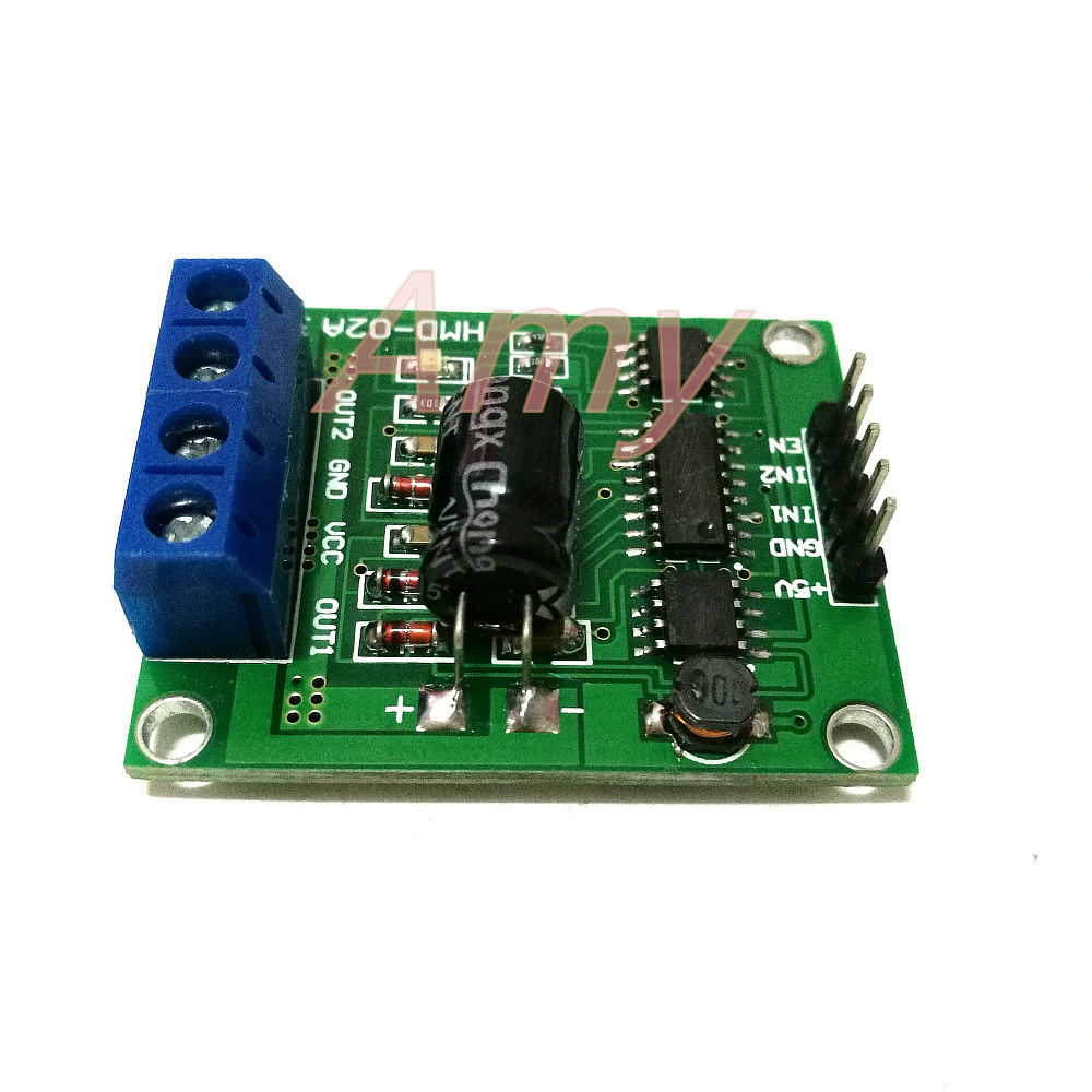 High-power H-bridge <font><b>DC</b></font> <font><b>motor</b></font> <font><b>driver</b></font> module 3-25V 90A new overcurrent send c51 Code image
