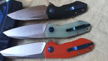 JH ball bearing 0456 folding knife Rexford D2 blade 3 colors G10 handle Flipper Survival Camping Hunt pocket Survival KnifeTool
