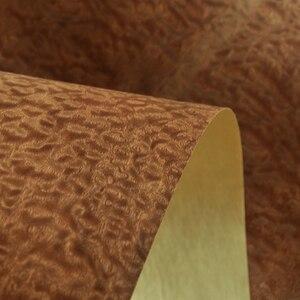 Image 1 - Natural Sapeli Pomelle Veneer with  Craft Paper Backer