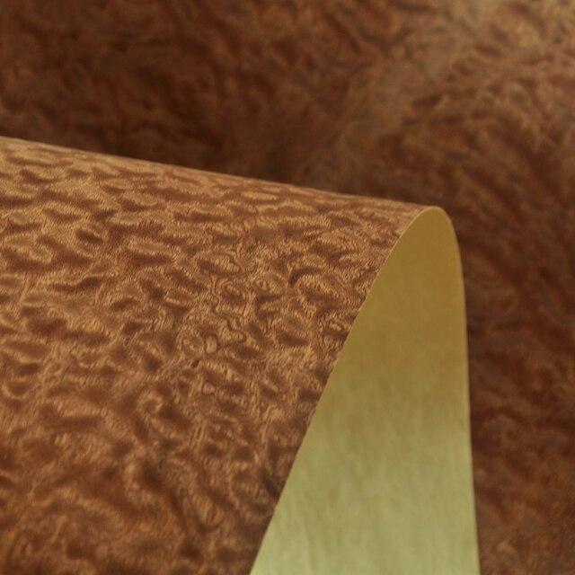 ธรรมชาติ Sapeli รุ่น Pomelle วีเนียร์หัตถกรรมกระดาษ Backer