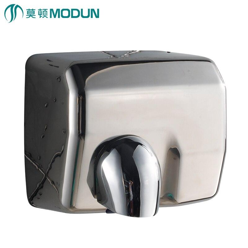 Banheiro comercial de alta velocidade heavy duty aço inoxidável 304 Anti-vandalismo construção secador de mão Automático não-operação de toque