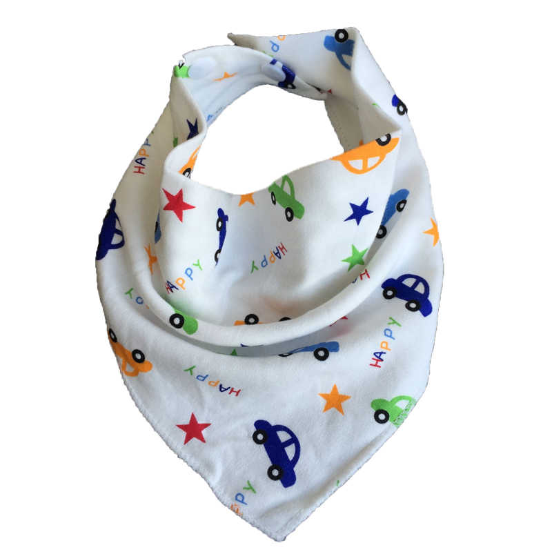 Chuya babadores bebê baberos bebê babadores triangle algodão dos desenhos animados criança cachecol bandana babadores para bebês