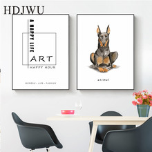 Art Home Canvas Wall Painting Creative combination Aminal Printing Posters Pictures for Living Room DJ262