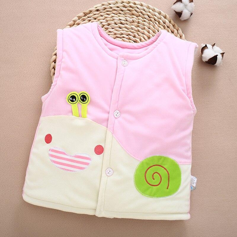 Clever Baby Kleinkind Kinder Winter Jungen Mädchen Weste Unten Baumwolle Weste Outwear G012 Modern Und Elegant In Mode