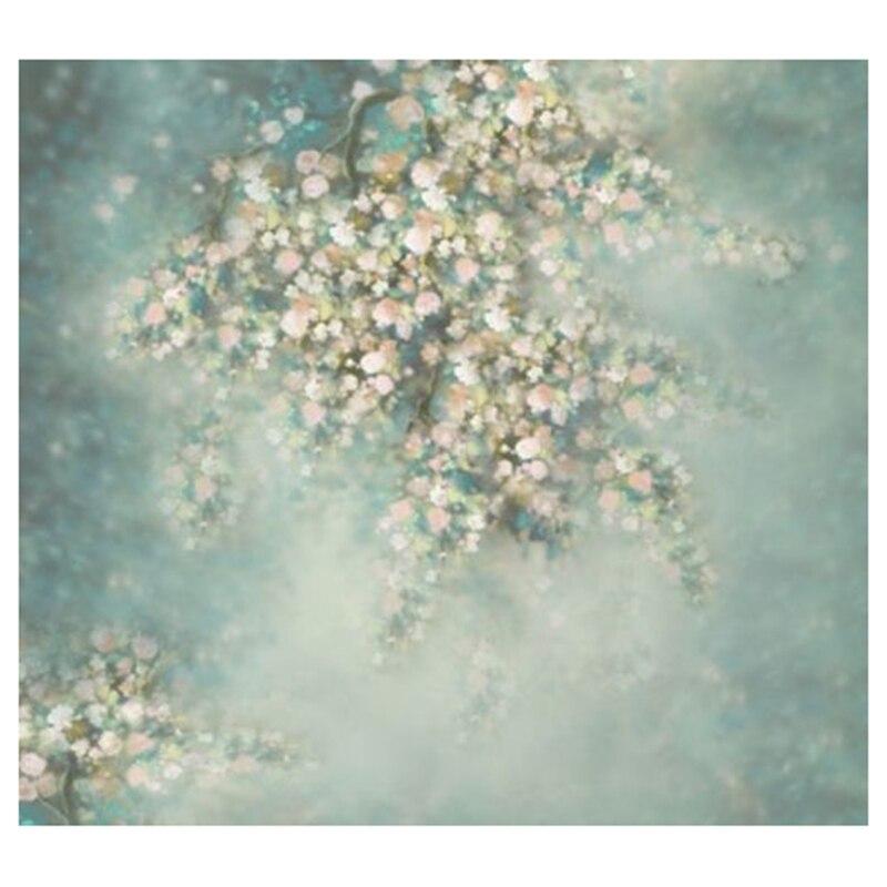 PHOTOGRAPHY Backdrop Wallpaper Vinyl Prop Flowers Wall 5X7 FT 300cm 200cm about 10ft 6 5ft backgroundswoods windmill flowers photography backdropsvinyl photography backdrop 3302 lk