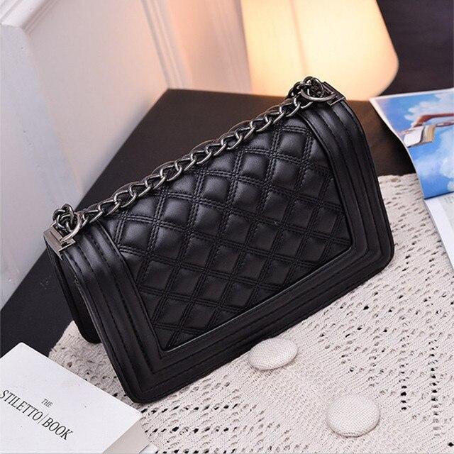 Vintage Diamond Lattice Handbags Hotsale Women Evening Clutch Ladies Party Chain Famous Brand Shoulder Messenger Crossbody Bags
