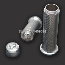 "New Motor Metal Chrome diamond skull 1 ""hand handlebar Grips for Harley 883 XL Sportster Dyna Softail Custom free shipping"