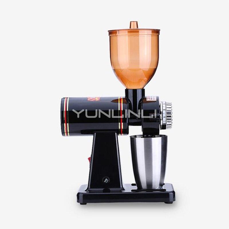 Коммерческий Электрический Кофе шлифовальные станки 220 В машина для помолки зерен кофе в зернах для кофеварки с нержавеющая сталь чашки 689