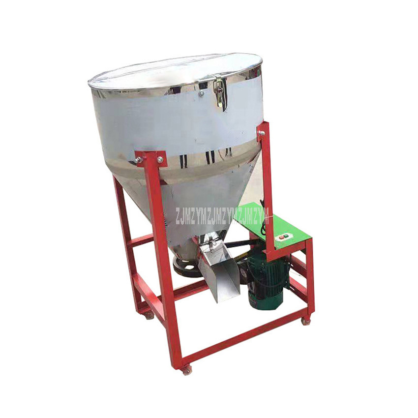 Commercial Pellet Stirring Machine Farm Animal Pig Chicken Duck Goose Cattle Poultry Forage Feed Granular Food Mixing Machine