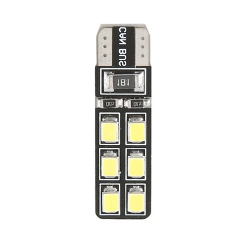 Car Styling T10 LED 2835 SMD 12 LEDs Car LED light Super Bright Clearance Light Universal Daytime Running Lights image