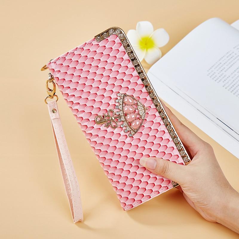 Wallet for Women Purse Business Card Holder Fashion Rhinestone ...