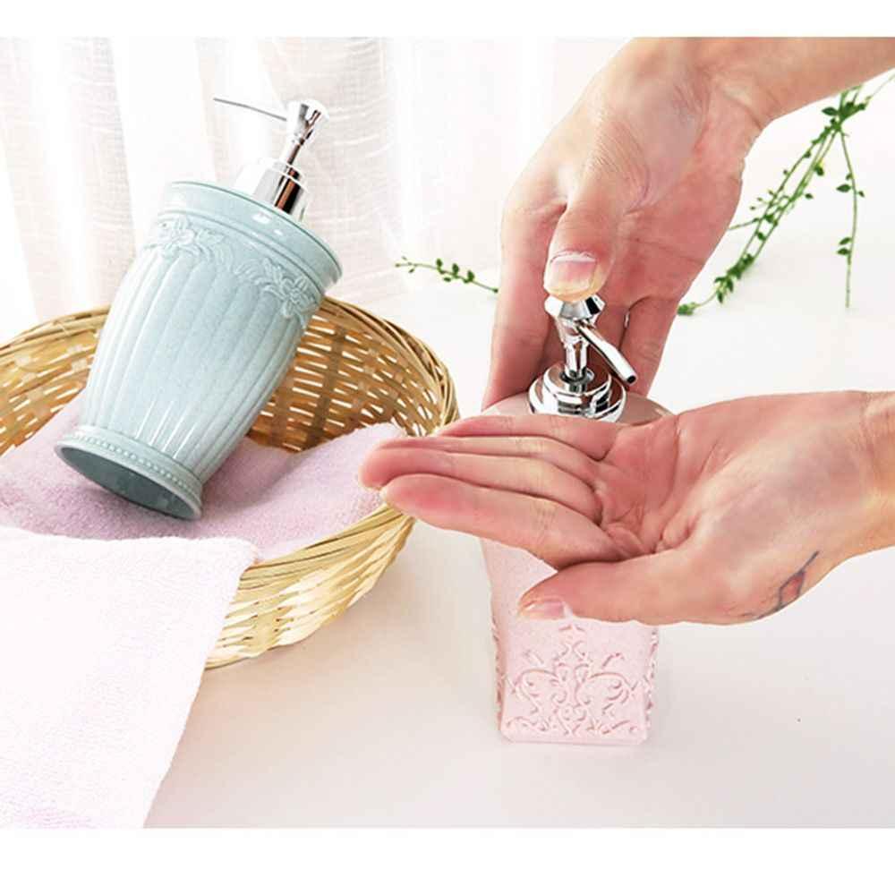 400 ml łazienka kran zlew dozownik mydła w płynie mydło w płynie mus dozownik pompa uchwyt do przechowywania butelka szampon dozowniki mydła