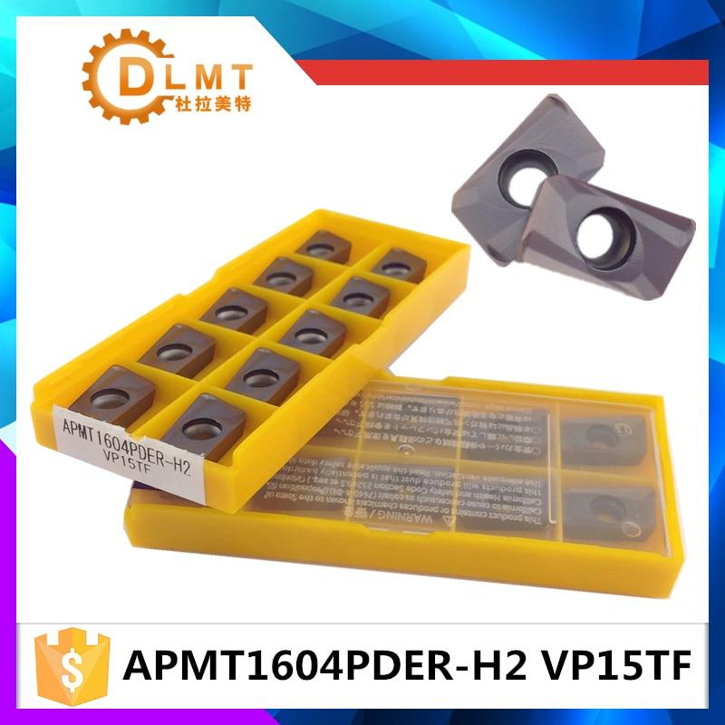 10db / APMT1604PDER M2 VP15TF APMT1604 PDER H2 VP1 betétek a finom - Szerszámgépek és tartozékok - Fénykép 1