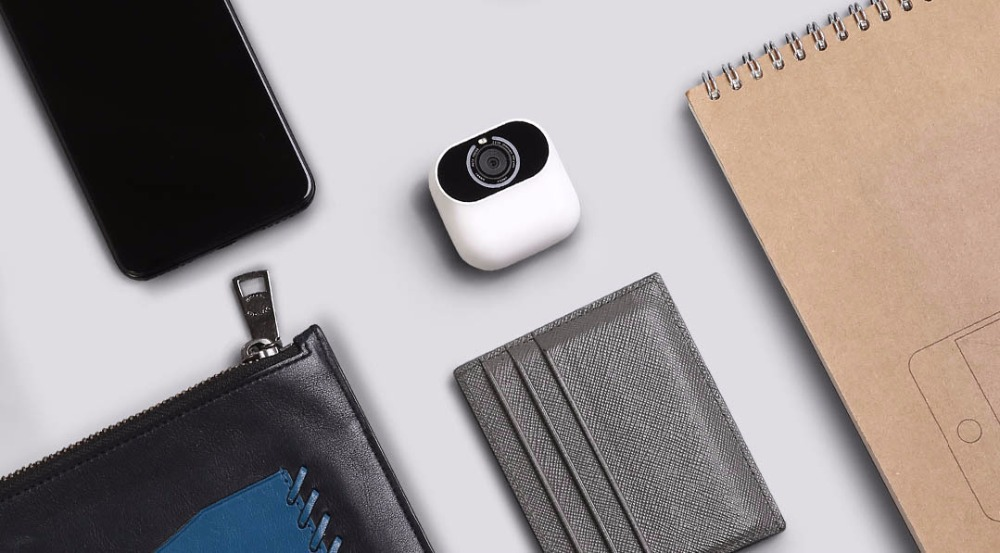 Image 3 - Xiaomi Xiaomo AI camera Mini camera 13MP CG010 Self Portraits Intelligent Gesture Recognition Free Shooting Angle Cam Smart APP-in Smart Remote Control from Consumer Electronics
