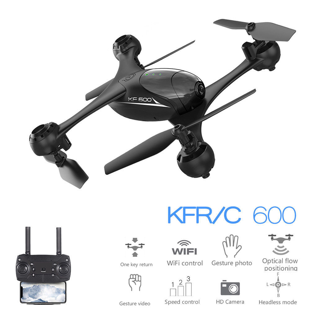 Toys & Hobbies Leadingstar Kf600 Selfie Drone Fpv Rc Qudacopter With Double 720p Hd Camera Dron Altitude Hold Helciopter Optical Follow Mode