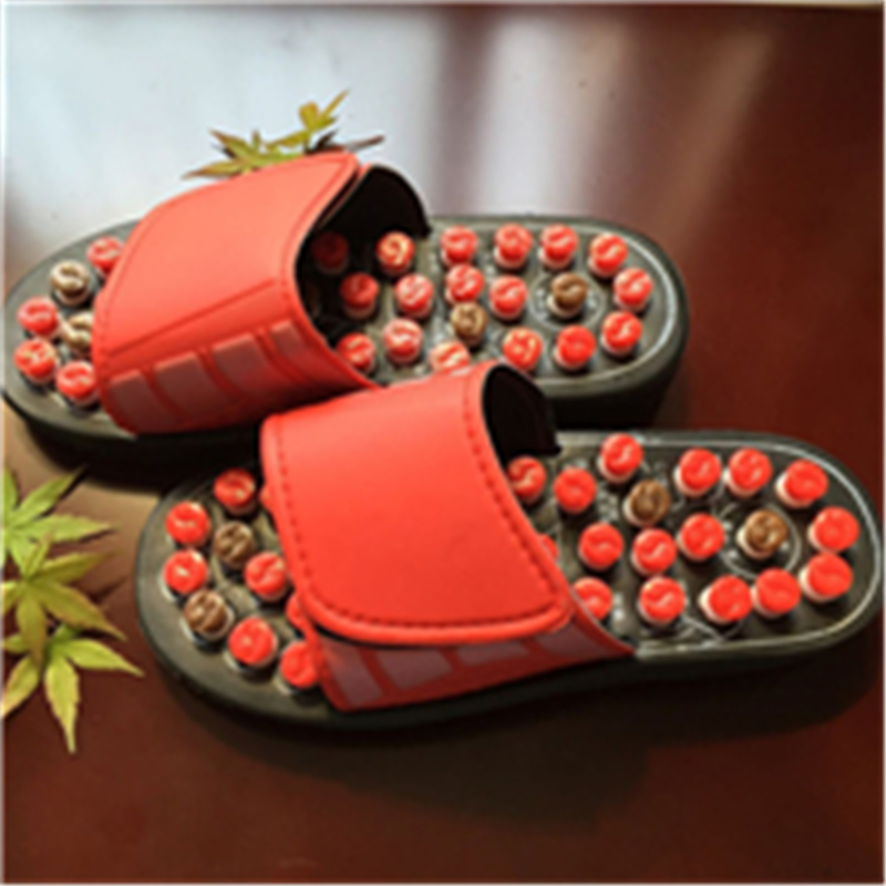 Hot Rotary Tai Chi Eight of magnetic Foot Massage Slippers Health Shoe Massages Elderly Product Rest Stone Massager Shoes electric antistress therapy rollers shiatsu kneading foot legs arms massager vibrator foot massage machine foot care device hot