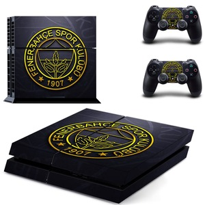 Image 4 - Fenerbahce Spor Kulubu Football PS4 Skin Sticker Decal Vinyl for Sony Playstation 4 Console and 2 Controllers PS4 Skin Sticker