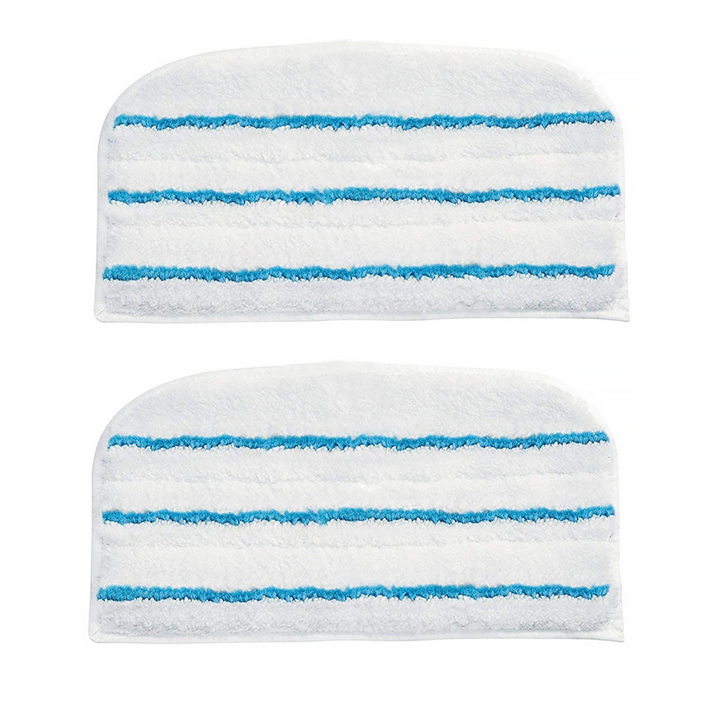 2PCS For Black+Decker Cloth Washable Clean Cover For FSM1610 1630 Steam Replacement Pad Microfiber Mop